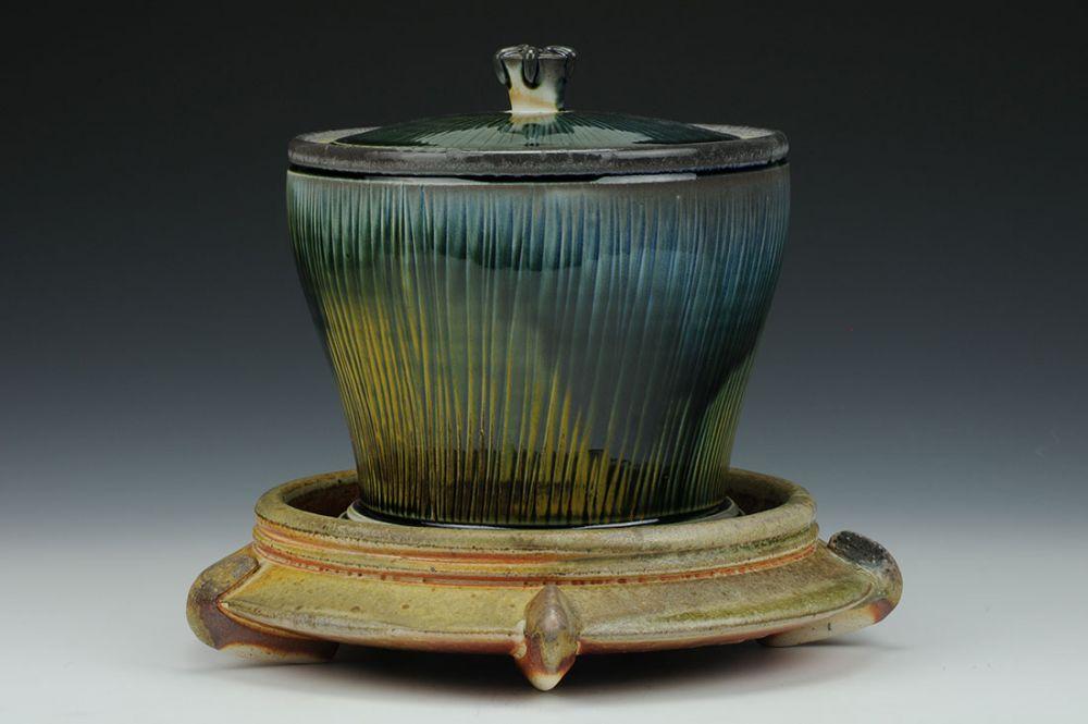 Jar with Pedestal
