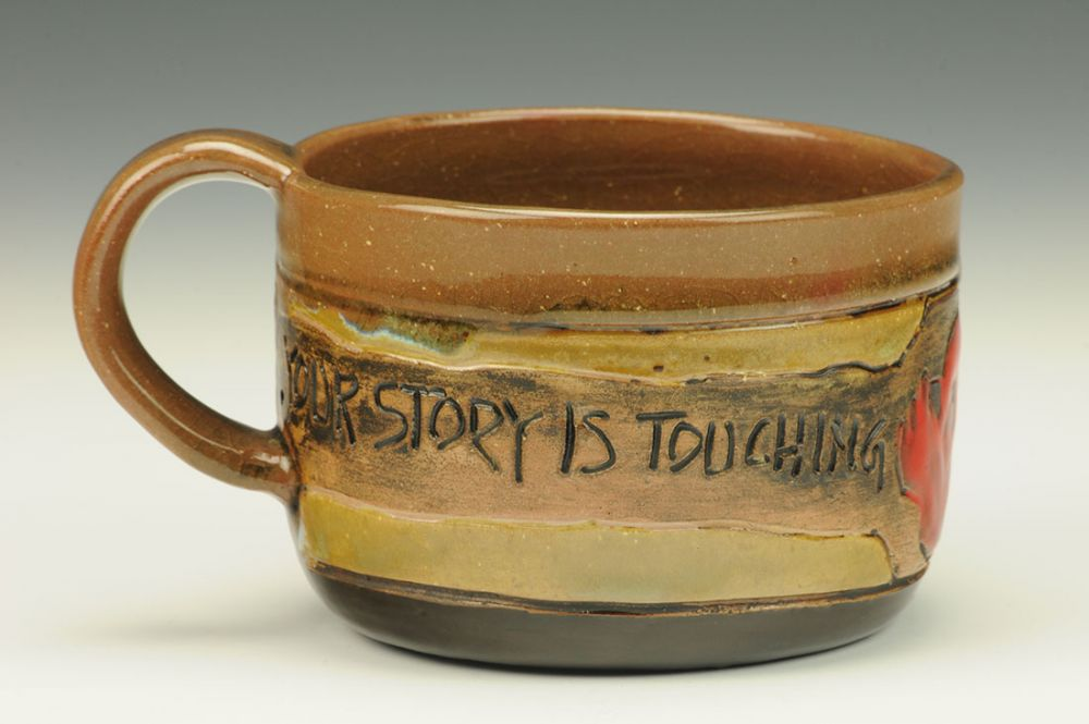 Your Story is Touching Mug