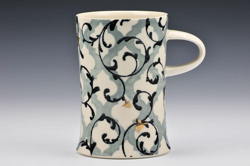 Pattern on Pattern Mug