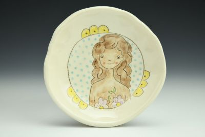 Flower Girl Small Dish