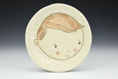 Little Boy Side Plate