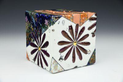 Imari Feldpar Wall/Table Crystal