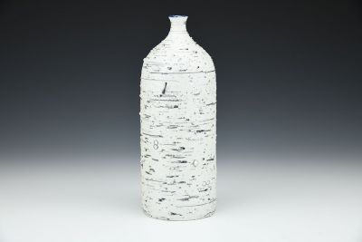 Cobalt Feldspar Bottle
