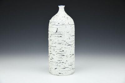 Cobalt Feldspar Bottle