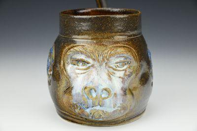 White-faced Monkey Mug