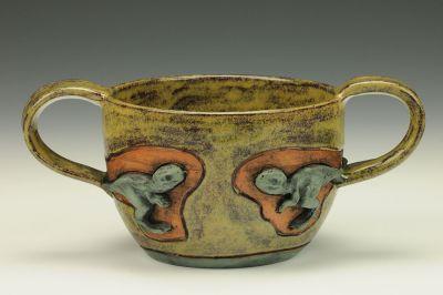 Two Handled Jurassic Mug