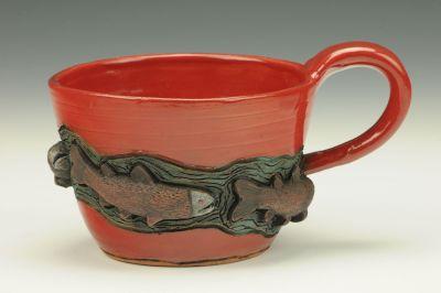 Red Salmon Mug