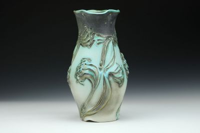 Tall Dragon Flower Vase