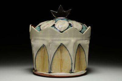 Turquoise Crown Jar
