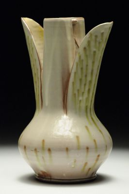 Green Dot Vase