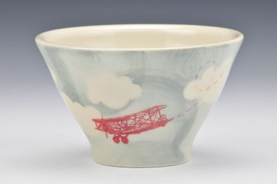 Stormy Skies Dessert Bowl