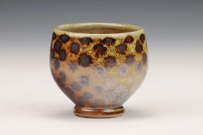 Cup with Brown Dots