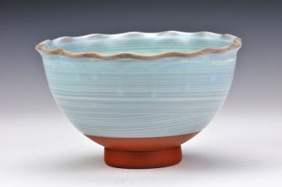 Blue Fluted Bowl