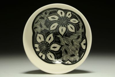 Lotus Cereal/Soup Bowl