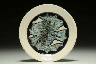Dragonfly Snack/Bread Plate
