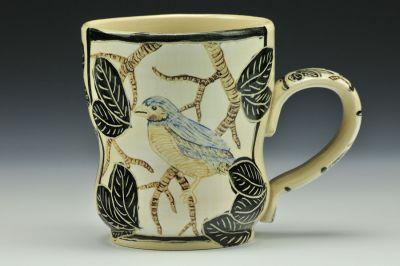 Bird and Tree Mug