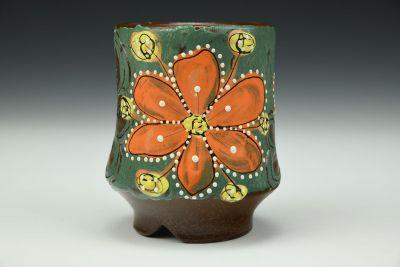 Orange Flower Power Cup