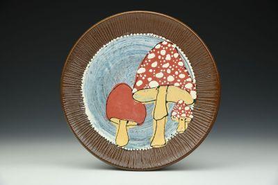 Red Mushroom Plate