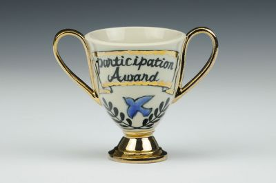 Consolation Prize Trophy