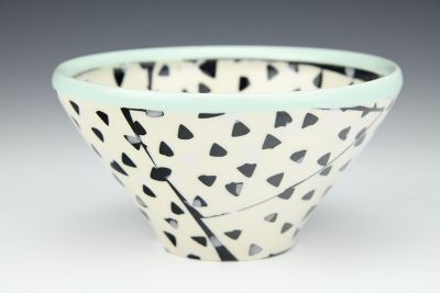 Triangles Cereal Bowl