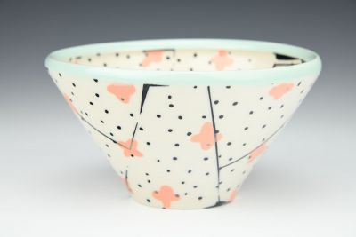 Cherry Blossoms Cereal Bowl