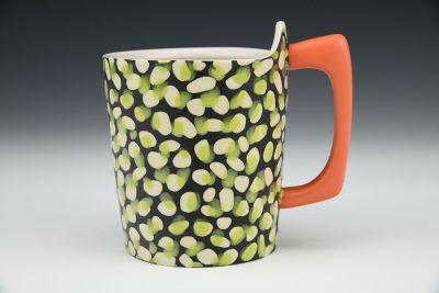 Off Register Abstract Dot Mug