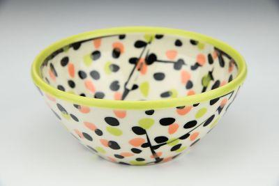 Abstract Dot Bowl