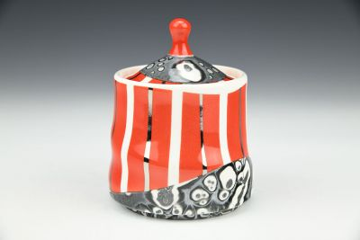 Small Red Jar