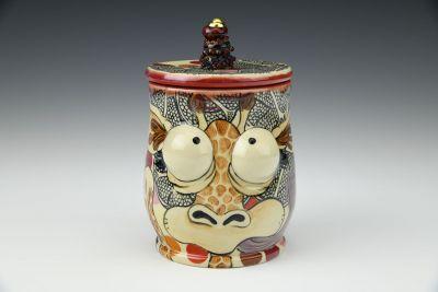 Giraffe Stash Jar