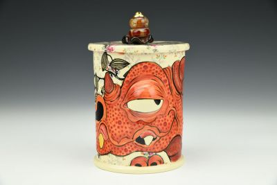 Red Dragon Jar