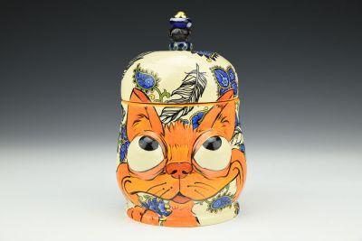 Orange Fox Jar