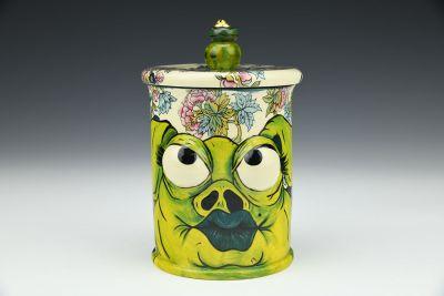 Green Pig Jar