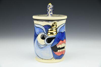 Blue Unicorn Jar