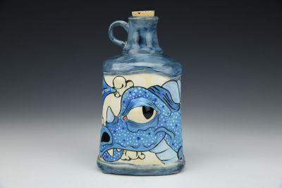 Blue Dragon Bottle