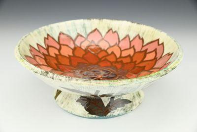 Dahlia Pedestal Bowl