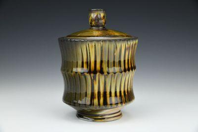 Ridged Jar