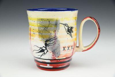 Riot Striped Mug