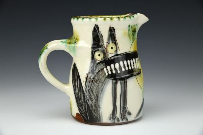 Howl at the Owl Small Pitcher