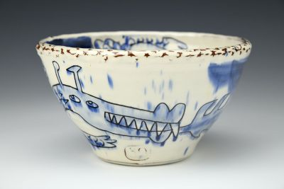 Blue Dragon Small Bowl