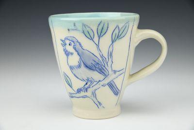 Scruffy Bird Mug