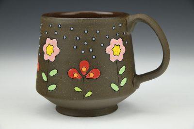 Flowers and Pollen Mug