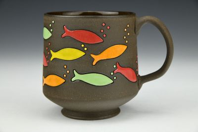 Candy Fish Mug