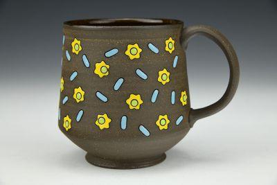 Flowers and Sprinkles Mug