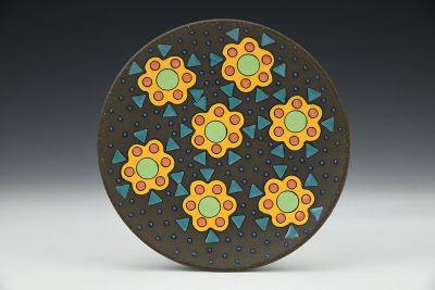 Fiesta Flowers Small Plate