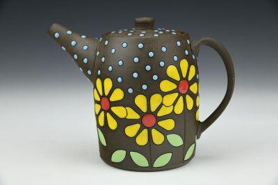Happy Daisy Small Teapot for One
