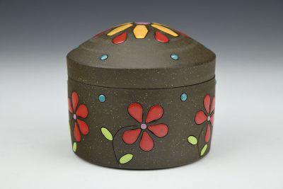 Summer Flowers Lidded Box
