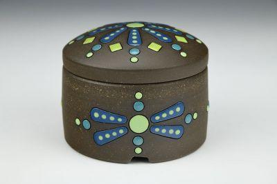 Dragonflies Lidded Box