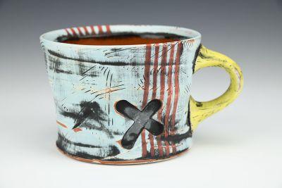 14oz. Turquoise X-Type Mug