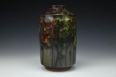 Fall Tree Line Jar