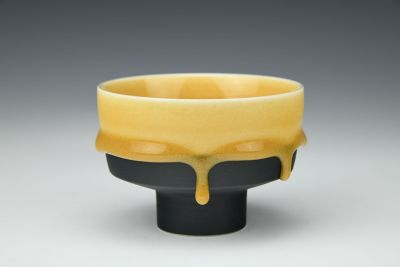 Yellow on Black Cup
